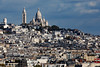 Paris View of Montmartre From L'Arc De Triomphe Tight (6900) Marked