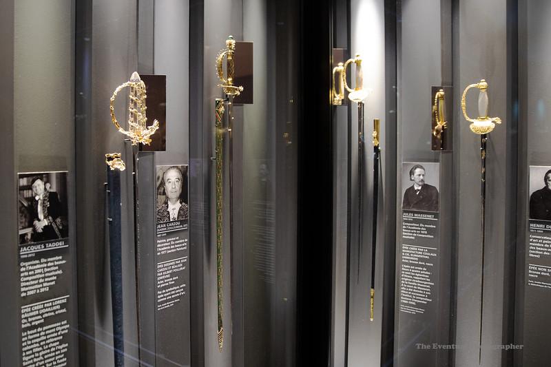 Paris Musee Marmottan #5 Men & Their Swords (6681) Marked