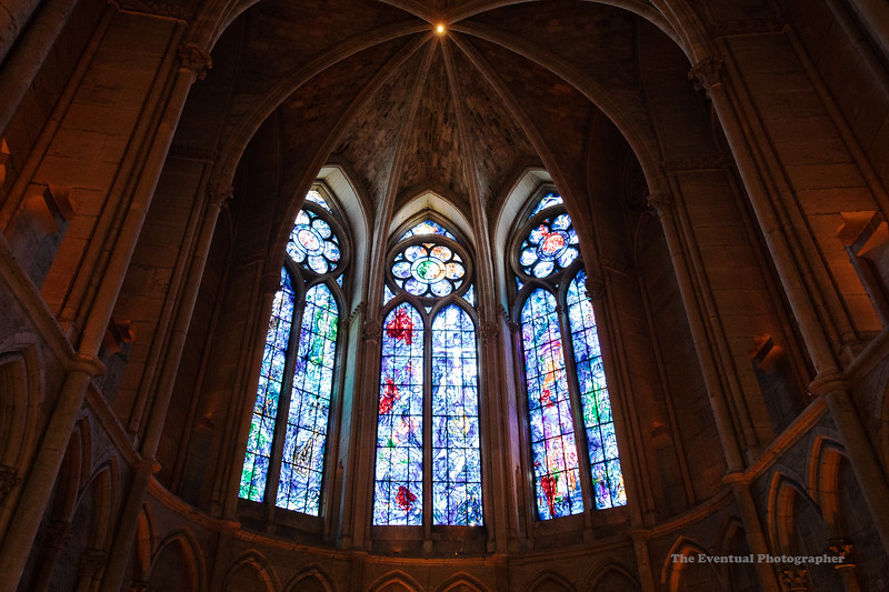 Reims Cathedral Notre Dame de Reims Stained Glass Ultrawide (2964) Marked