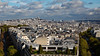 Paris View of Montmartre From L'Arc De Triomphe Wide 16x9 (6895) Marked