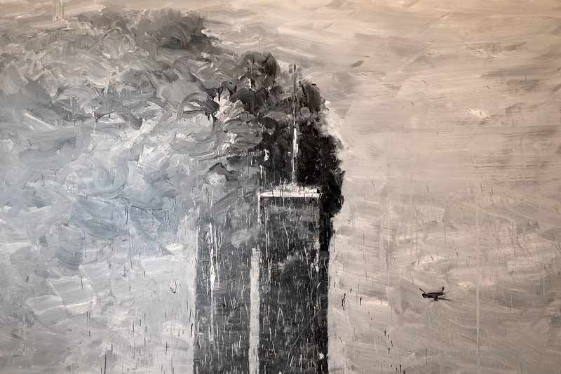 Dijon Musee Beaux Arts Yan Pei-Ming WTC (3061) Marked