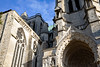Chartres Cathedral Exterior View #5 (6566) Marked