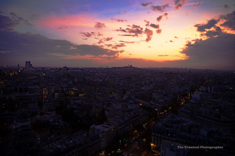 Paris Dawn From Hyatt Regency Etoile DattoCon 2019 (7002) Marked