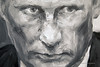 Dijon Musee Beaux Arts Yan Pei-Ming Putin Closeup (3077) Marked