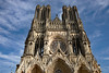 Reims Cathedral Notre Dame de Reims Upper Sweep (2975) Marked