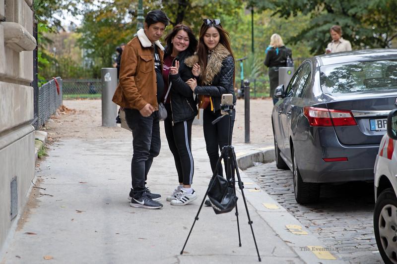 Paris Street Studio Selfie (6850) Marked