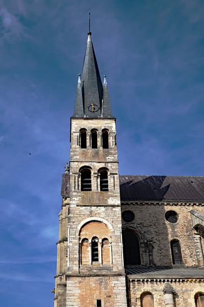 Reims Basilique San Remi Spire (2984) Marked