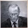 Dijon Musee Beaux Arts Yan Pei-Ming Putin (3073) Marked