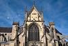 Reims Basilique San Remi Upper Facade (2987) Marked