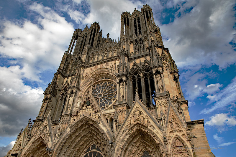 Reims Cathedral Notre Dame de Reims Lower Tight (2916) Marked