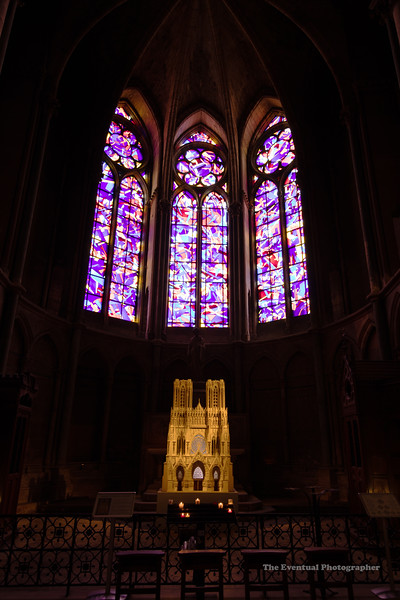 Reims Cathedral Notre Dame de Reims Chappel Ultrawide (2961) Marked