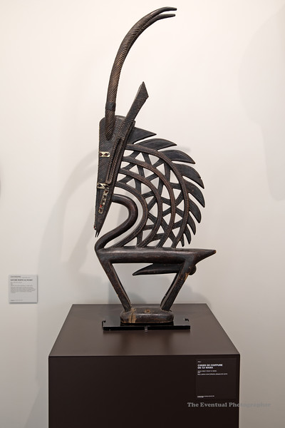 Dijon Musee Beaux Arts Cote Tji Wara Headcrest (3116) Marked
