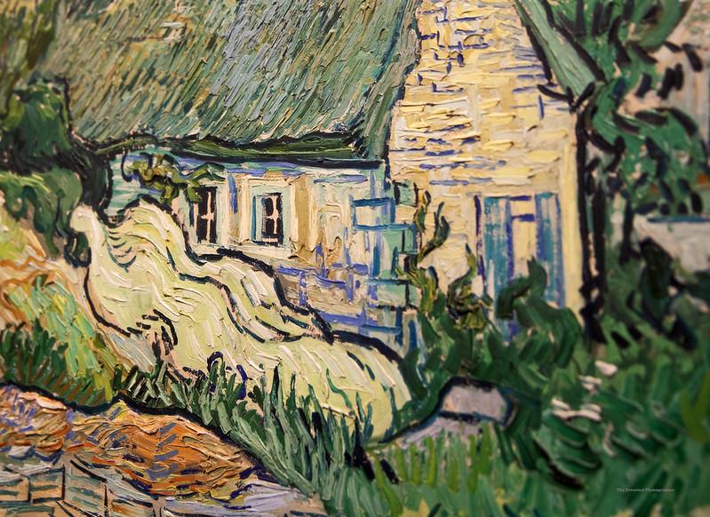 Paris Musee D'Orsay #18 Van Gogh Closeup (6752) Marked