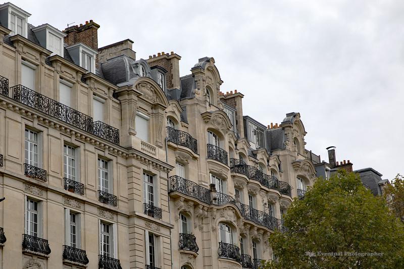 Paris Row Housing (6661) Marked
