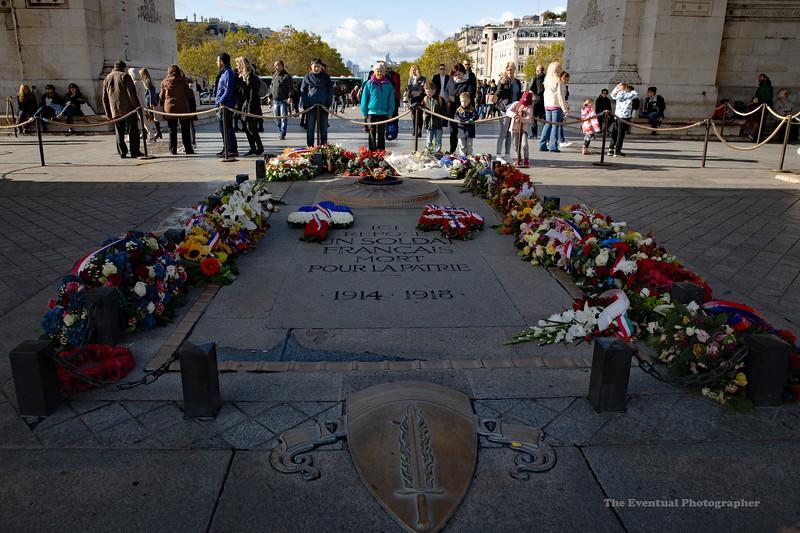 Paris Arc De Triomphe View #5 (6971) Marked
