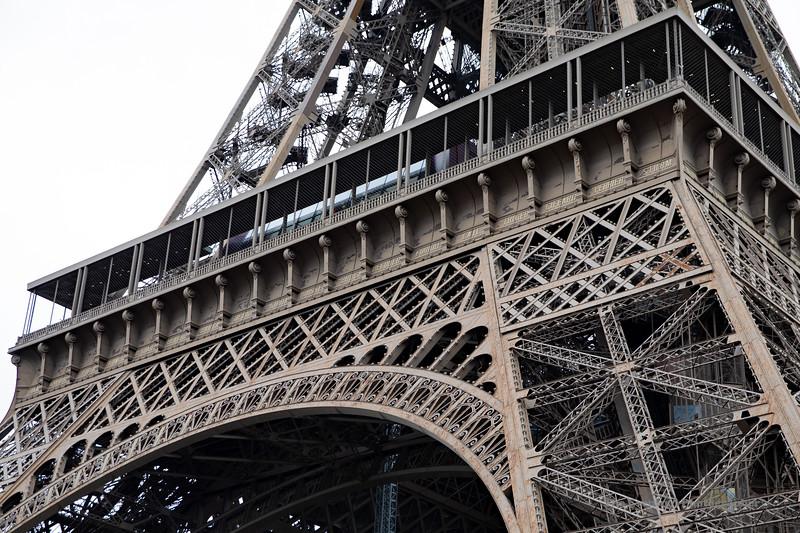 Paris Le Tour Eiffel View #5 (6862) Marked