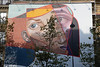 Paris Street Picasso Esque Street Mural (6989) Marked