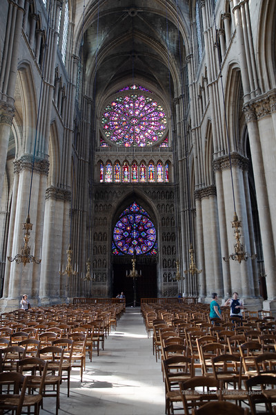Reims Cathedral Notre Dame de Reims From Altar Ultrawide (2973) Marked