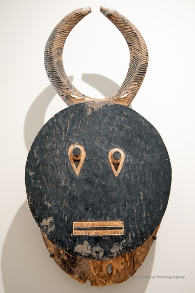 Dijon Musee Beaux Arts Cote D'Ivoire Mask (3115) Marked