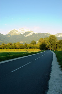 Cycle Path and Mountains (1)