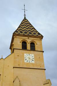 Church Spire in Is-sur-Tille