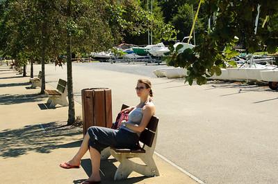 Resting Tired Legs