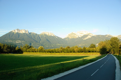Cycle Path and Mountains (2)