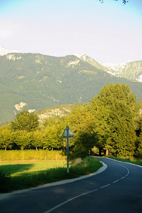 Cycle Path and Mountains (3)