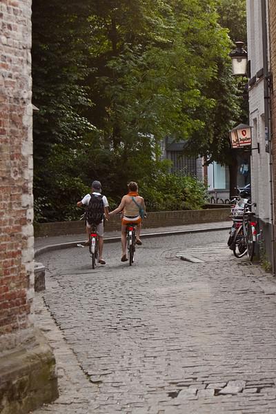 Young Love Belgium Style, Bruges, Belgium