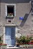 Door and Window, Rue Descartes, Loire Valley, France