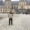 Royal palace at Fontainebleau, south of Paris