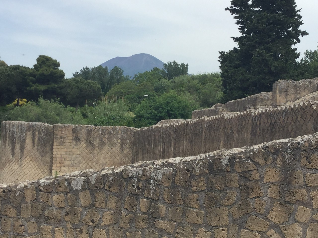 Top of Vesuvius
