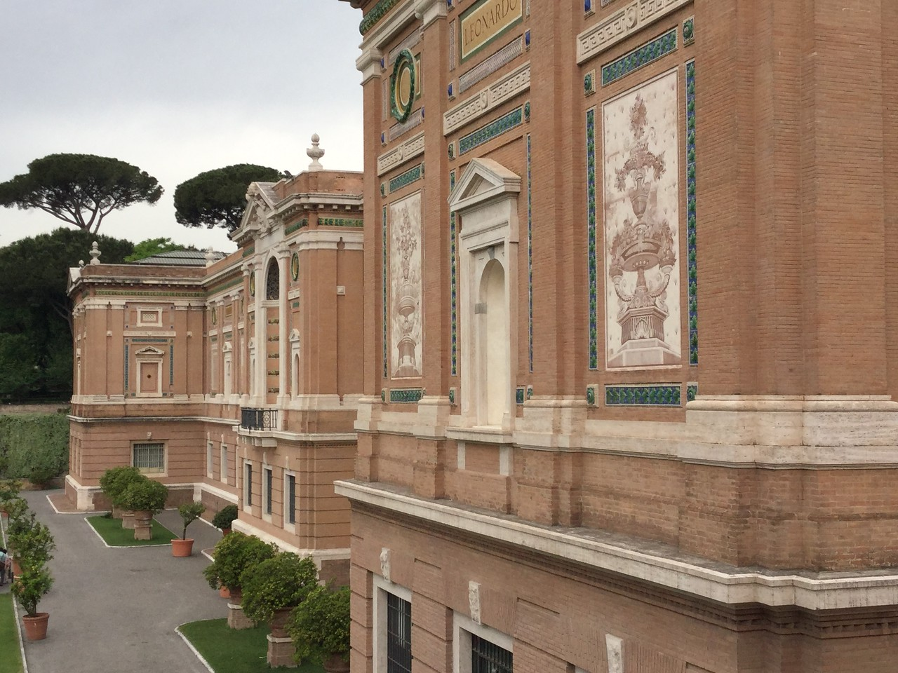 Start of the Vatican tour