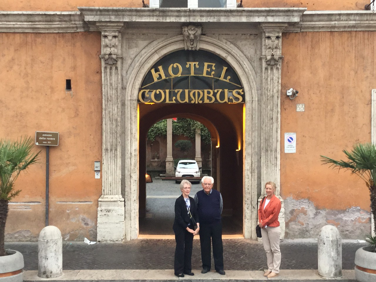 Our most excellent hotel in Rome