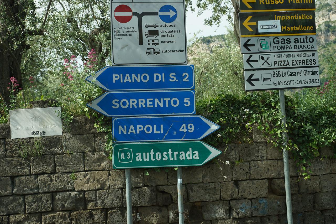 Visit to Sorrento after Pompei