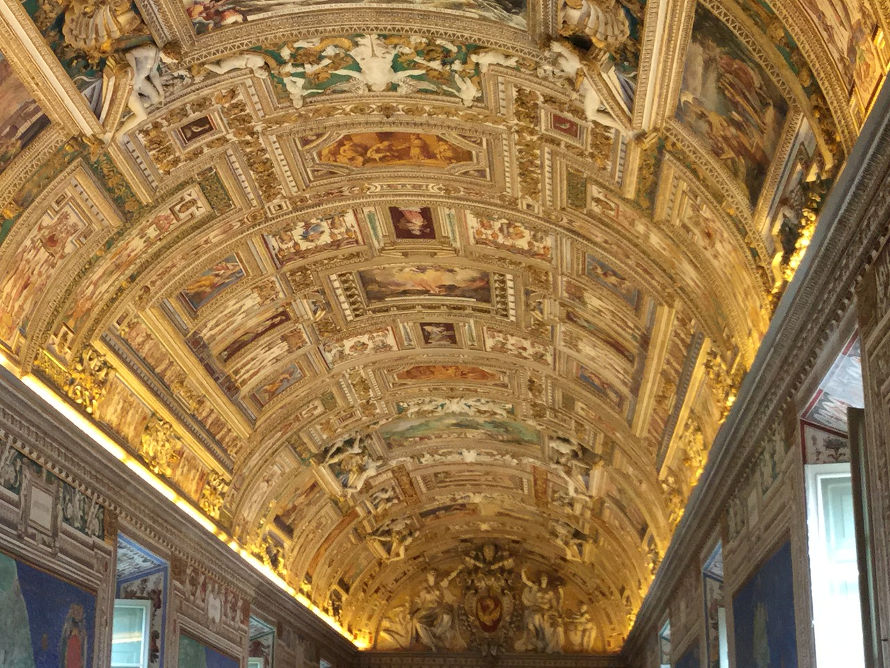 In the Vatican Museum (I think)