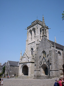 The Church in Locronan
