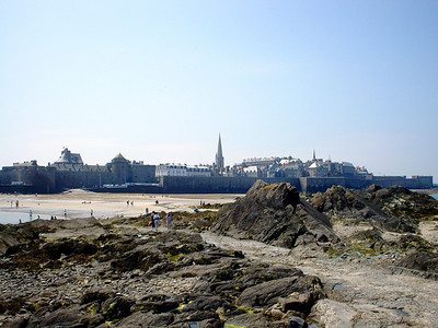 St Malo From the Fort National  I took this from the Fort National.