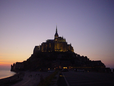 Mont-St-Michel - the Final Shot  The last pic of Mont-St-Michel taken from the causeway as we returned to the car.