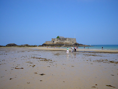 Fort National at St Malo  One of the forts