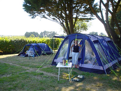 Kervel Pitch  Most of our stay was in Kervel at