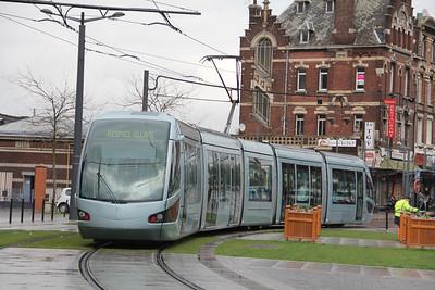 Tramway de Valenciennes M203 Place de la Gare Valanciennes Apr 13