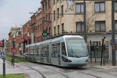 Tramway de Valenciennes M202 Rue de Thoroze Valanciennes Apr 13