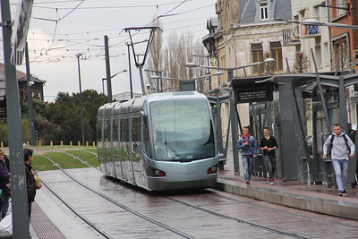 Tramway de Valenciennes M106 Place de Tournai Valanciennes Apr 13