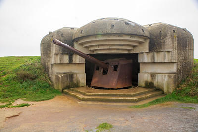 German Gun Emplacement