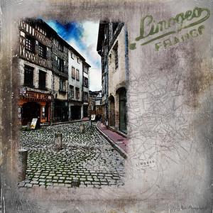 Limoges Back Alley