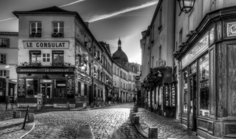 Le Consulat; Montmatre; Paris; France