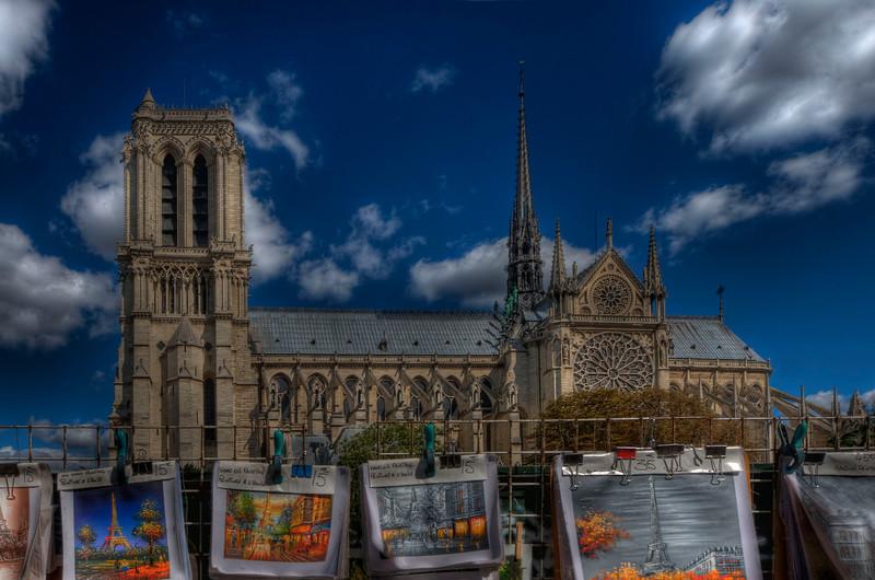 Notre Dame; Paris; France