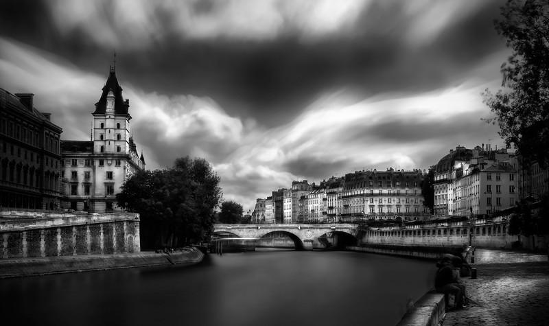 Palais de Justice; River Seine; Paris; France
