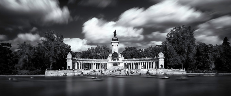 Buen Retiro Park; Madrid; Spain